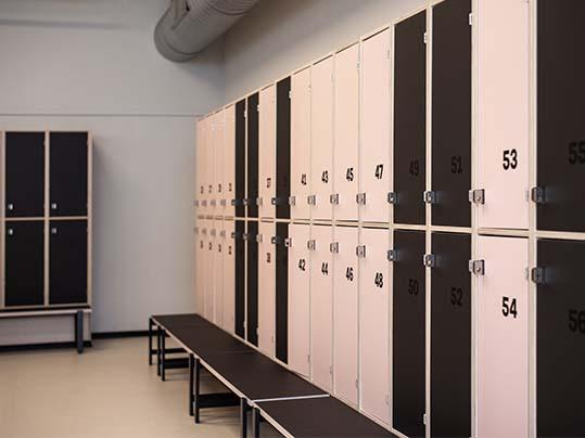 Fitness World Denmark_ Furniture Linoleum wardrobes 4166 & 4155