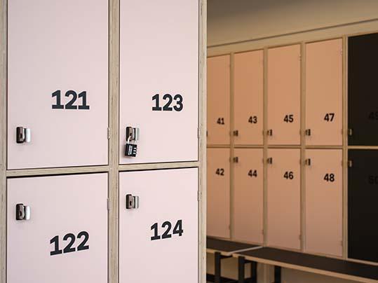 Fitnessworld_ wardrobes_4185 furniture Linoleum Denmark