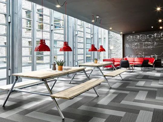 Flotex - le revêtement de sol textile performant: Flotex Planks