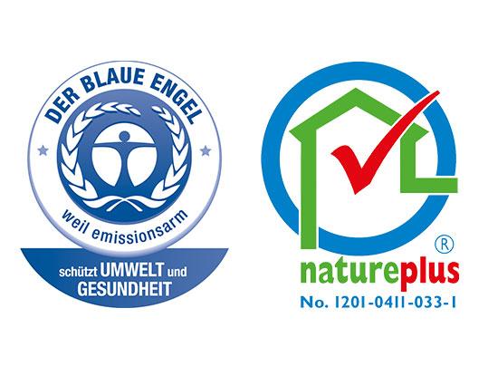 Forbo Marmoleum ausgezeichnet mit Blauer Engel & Natureplus