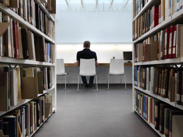 Universität München - Schalldämmendes Linoleum für Ruhezonen