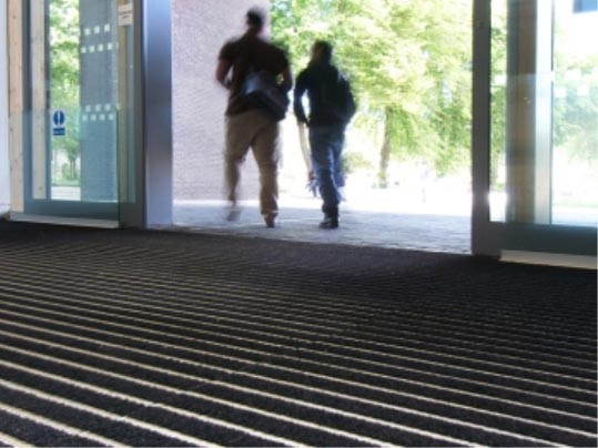 Nuway Grid entrance flooring