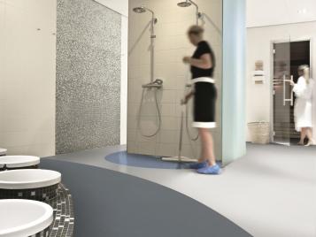 Safestep Aqua Wykładziny do pomieszczeń mokrych