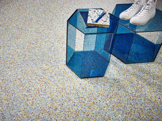 Fabscrap flooring