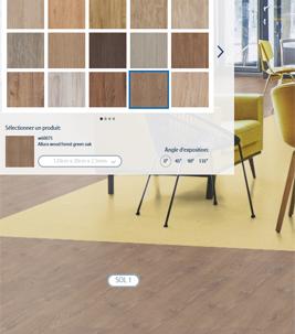 Floorplanner simulez votre sol