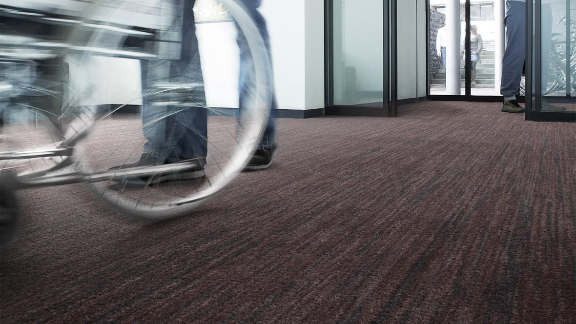 Reference Coral Entrance Flooring