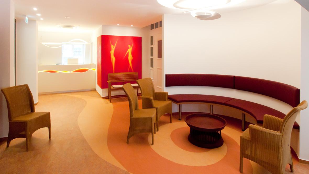 Gynäkologische Praxis in Witten Wartezimmer – Forbo Marmoleum Vivace