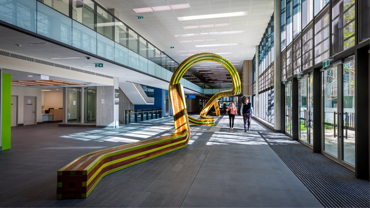 Fiona Stanley Hospital - Entry