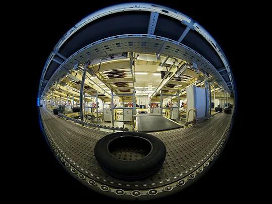 Tire transport on PMB - Reifenindustrie