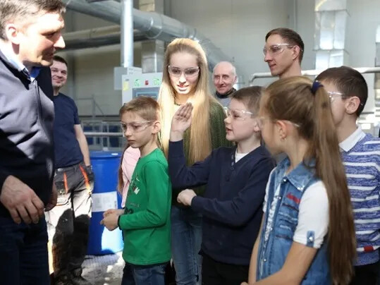 Eurocol_Plant tour for kids