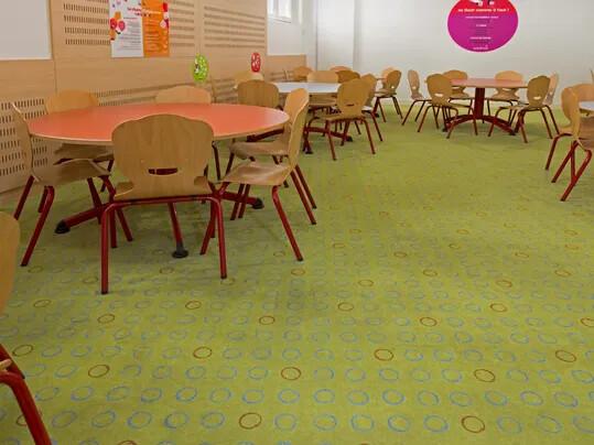 Flotex, le sol textile idéal pour les bâtiments d'enseignement