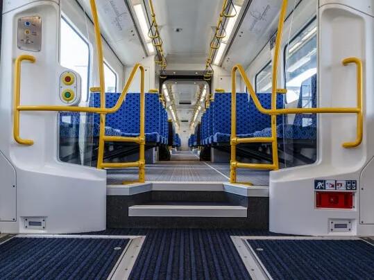 Auckland Transport Coral - entrémåtte til jernbanetog