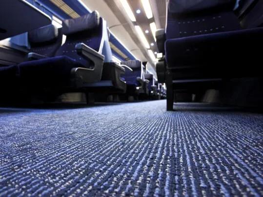 East Midlands Trains Tessera textilmatta - gulv til jernbane