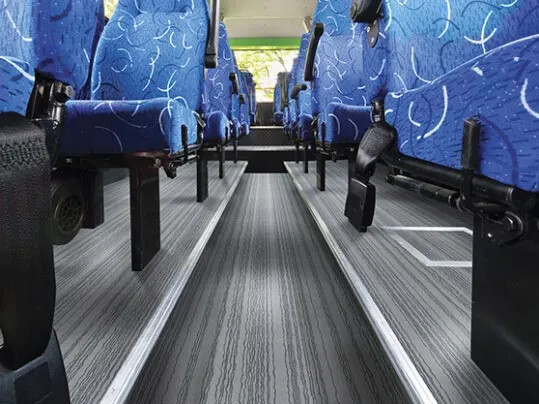Bus & Coach Flotex flooring