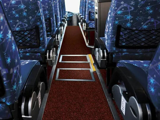 Coral - Bus & Coach entrance flooring