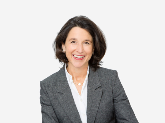 Portrait photograph of Claudia Coninx-Kaczynski, member of the Board of Directors at Forbo