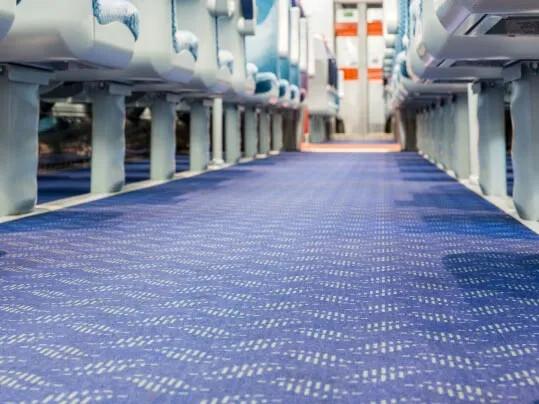 Translink NL Railways - Flotex FR sols floqués pour trains