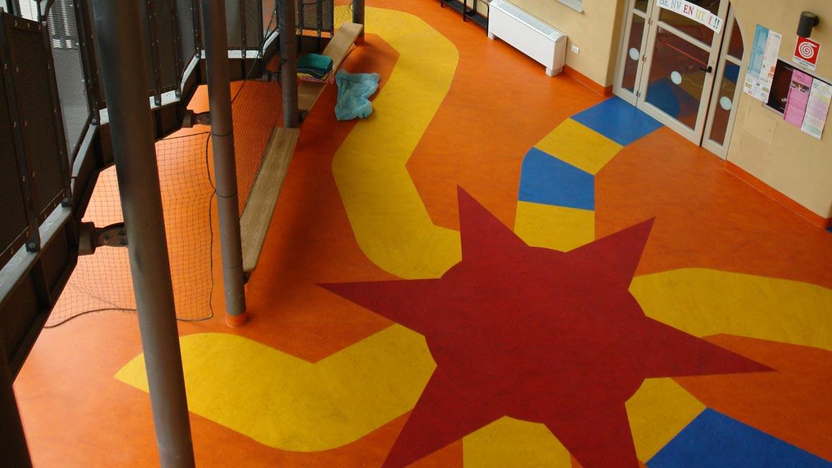 Paper-mill nursery school Turin
