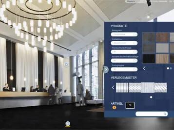 Revêtement de sol personnalisation floorplanner | Forbo Flooring Systems