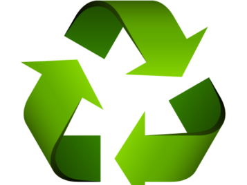 Carpet tiles can be recycled at the end of life