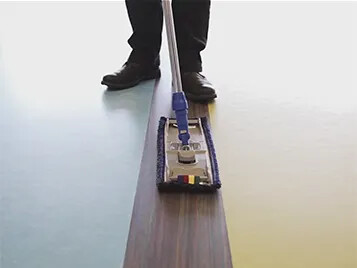 Marmoleum installation and floorcare