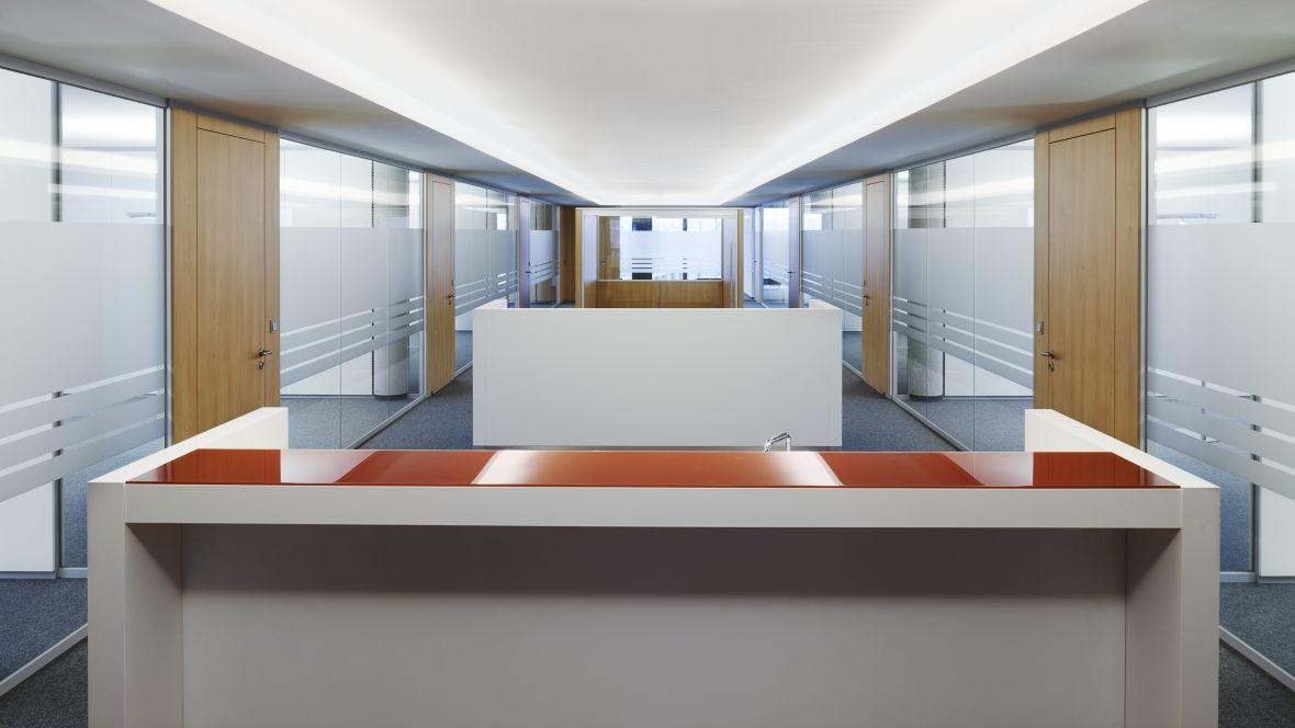 dSPACE GmbH Paderborn Gang mit Arbeitsnischen – Forbo Nadelvlies Forte
