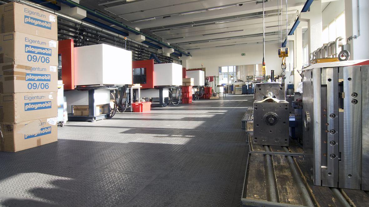 Playmobil Zirndorf Produktionshalle – Forbo R11 Plus