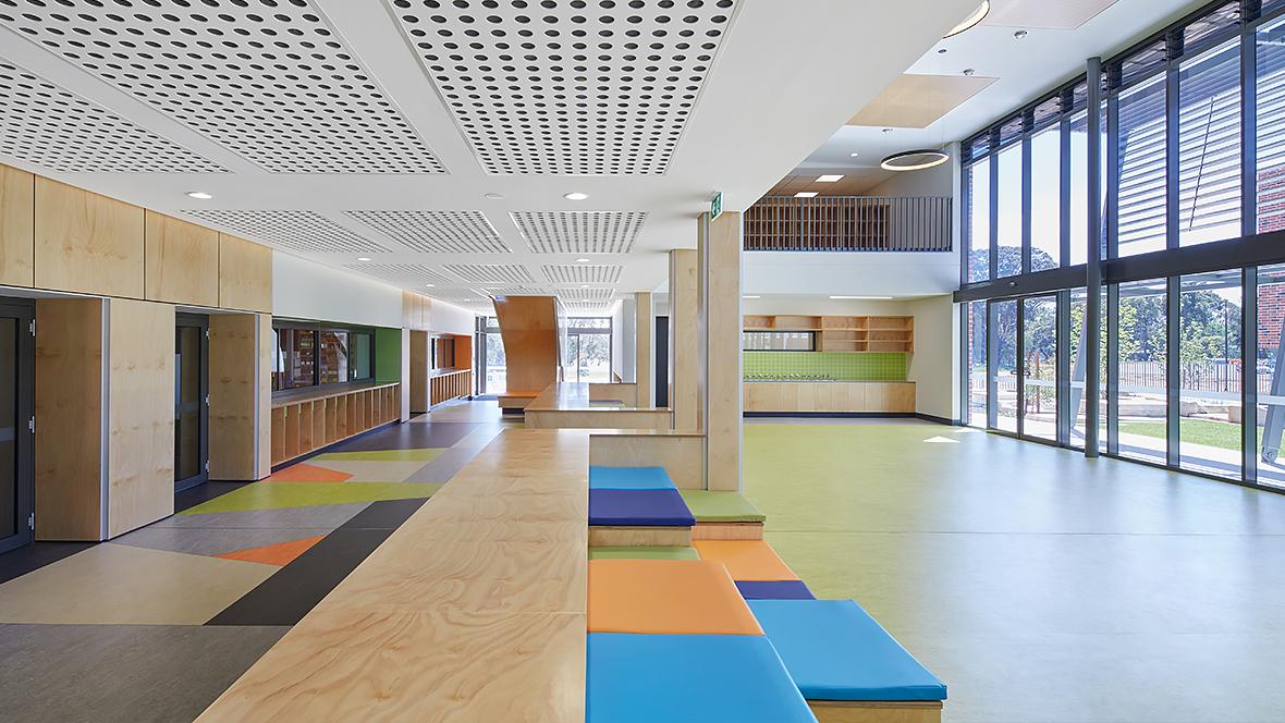 Guildford Grammar school WA - marmoleum