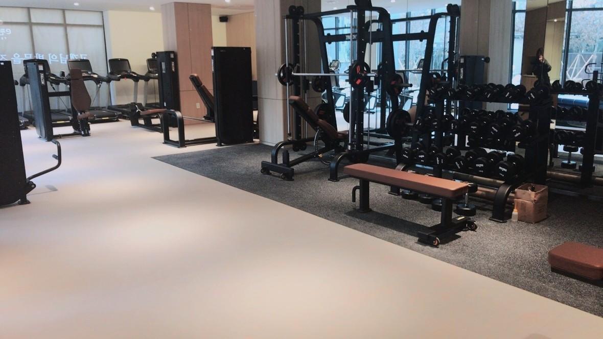 Daelim apartment community facility - Korea