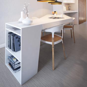 Sarlon habitat+ zébrano, revêtement de sol PVC acoustique pour l'habitat, Forbo Flooring Systems