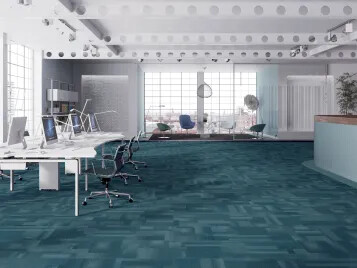 Dalles textiles tuftées Tessera | Forbo Flooring Systems