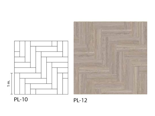Marmoleum Modular PL-12 Grid