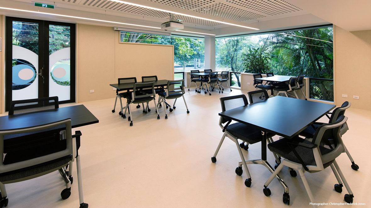 UQ School of Archcitecture QLD - Marmoleum flooring