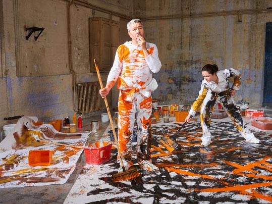 Flotex - le revêtement de sol textile performant : Flotex by Philippe Starck