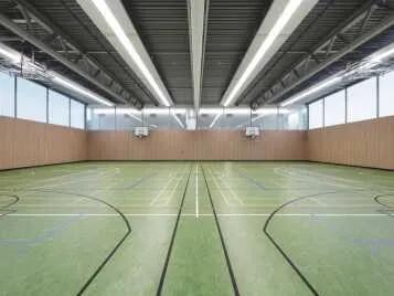 Marmoleum Sport linoleum desportivo