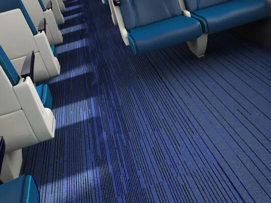 Coral Move FR - rail carpet flooring