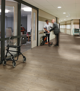Flooring solutions for aged care facilities