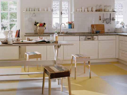 Marmoleum Click Küche