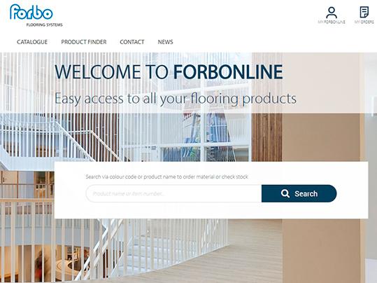 ForbOnline homepage