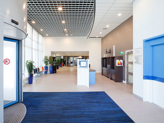 Entrance flooring - Coral - Commercial Office Interiors