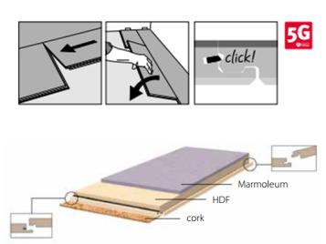 Marmoleum Click