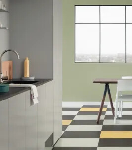 Marmoleum click kitchen