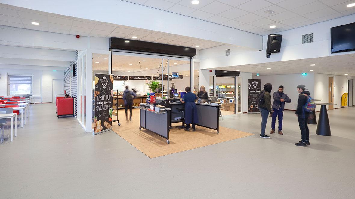 Albeda College Rotterdam location Haastrechstraat