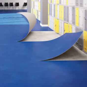 Modul'up loose lay vinyl flooring