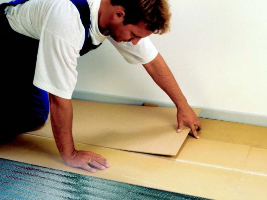 Forbo QuickFit Subfloor System