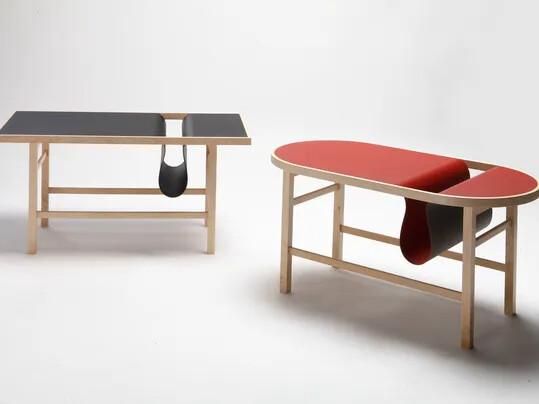 Revêtement linoléum, Défi étudiant Table et meubles | Forbo Flooring Systems