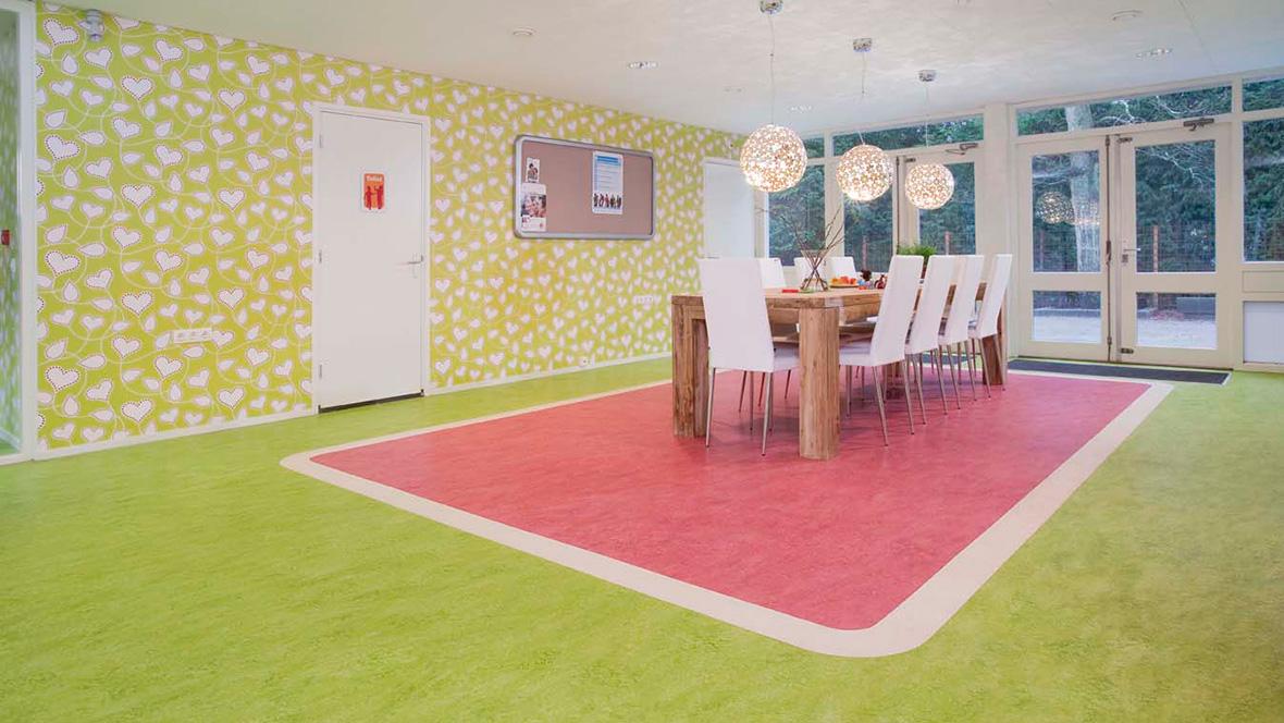 Centrum voor Jeugd en gezin - Marmoleum real 3224