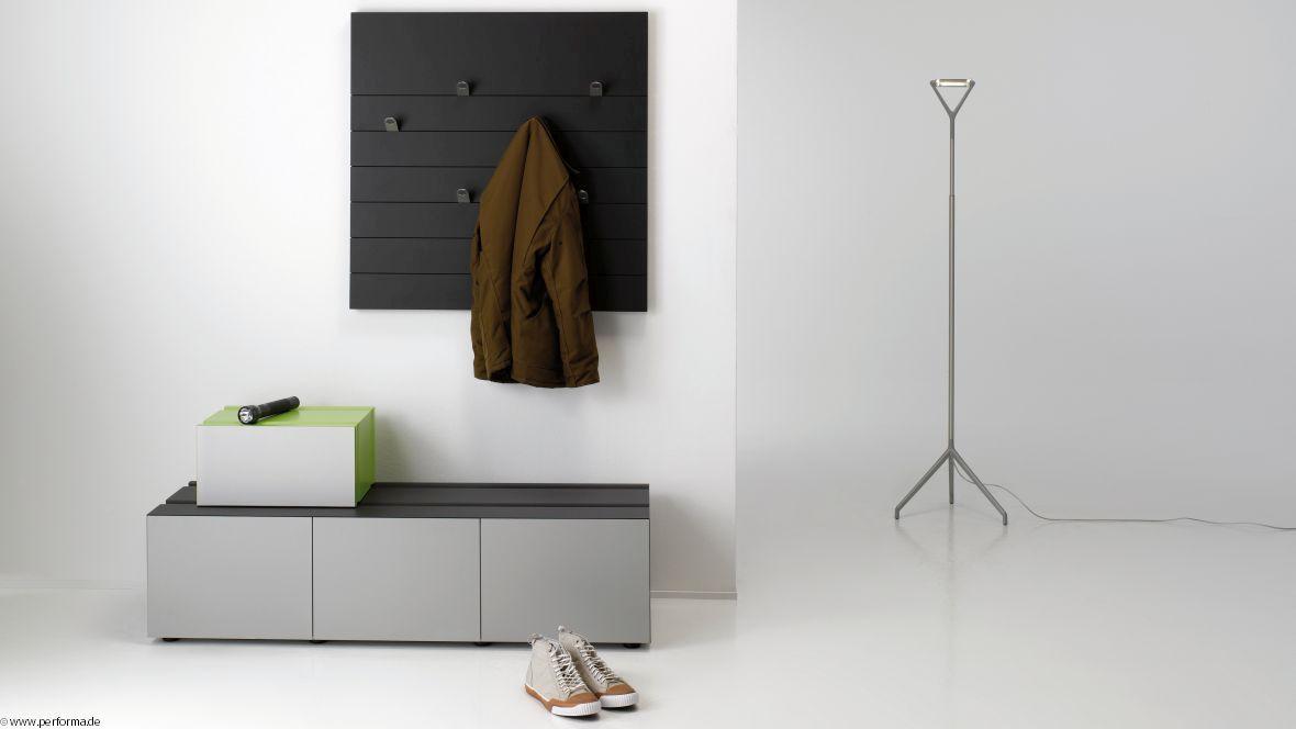 Möbelkollektion Performa Gaderobenelemente – Forbo Furniture Linoleum