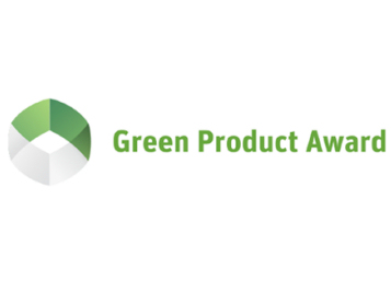 Green product award 2016 logo