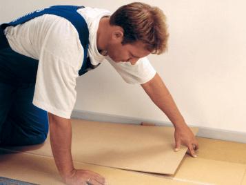 Instalacja podłoża dla wykładzin podłogowych